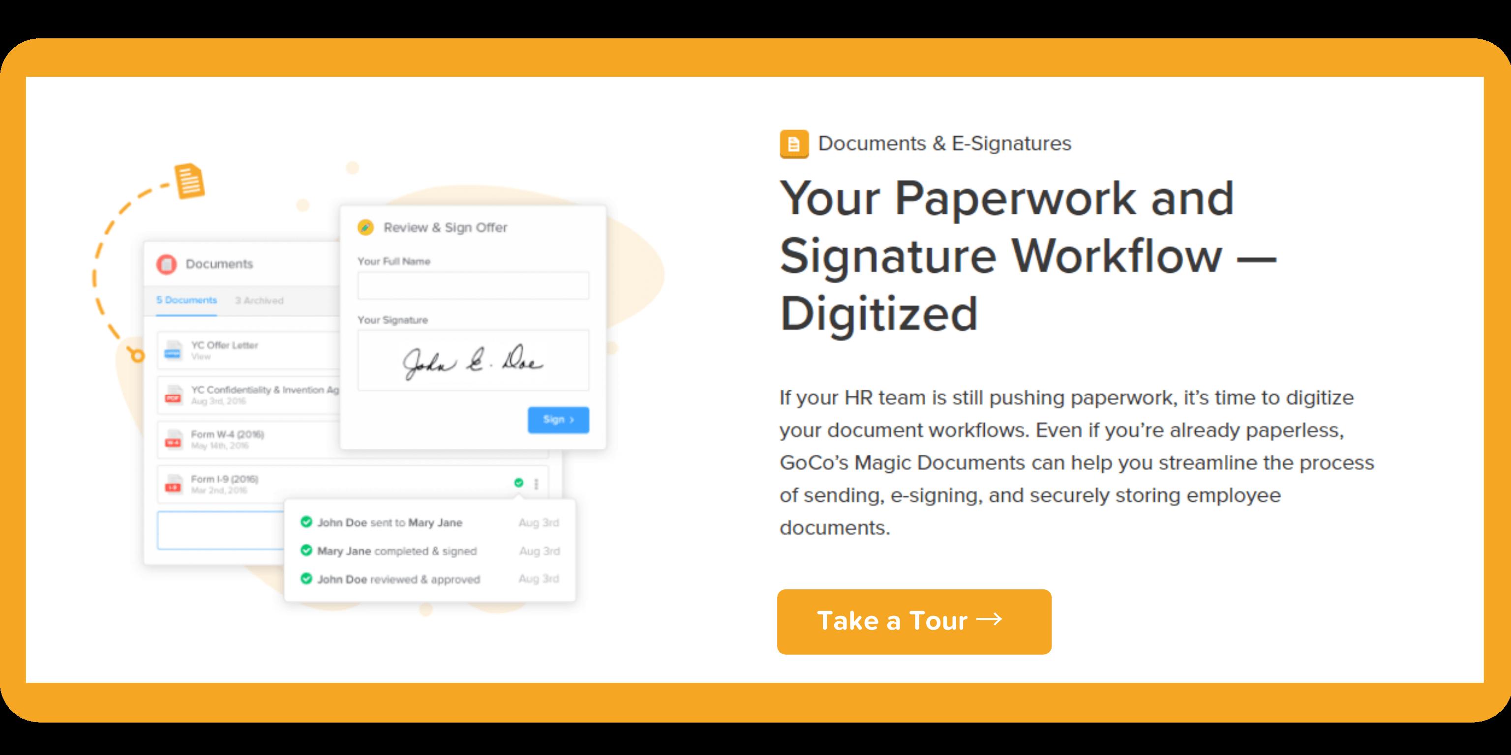 Paperless HR